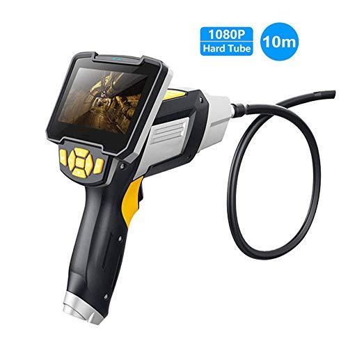 Hongge Industrielles Endoskop, 1080P Inspektionskamera FüR Auto Repair Tool IP67 Wasserdichtes Endoskop Kamera 1M / 3M / 5M / 10M Schlange/Harte RöHre Endoskop-Inspektionskamera