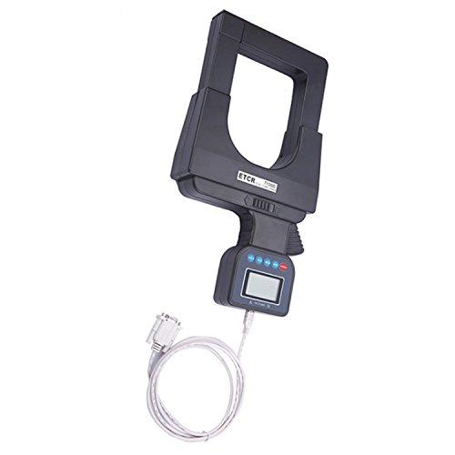 Multímetro Amperimetrica Digital, Ángulo de pinza digital Super Large Caliber con interfaz USB AC DC Clamp Meter ETCR7100D Clamp Meter