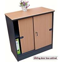 office bookcases with doors. Office Cupboard / Home Storage Cabinet With Shelves \u0026 Door - (Beech Dark Grey Bookcases Doors
