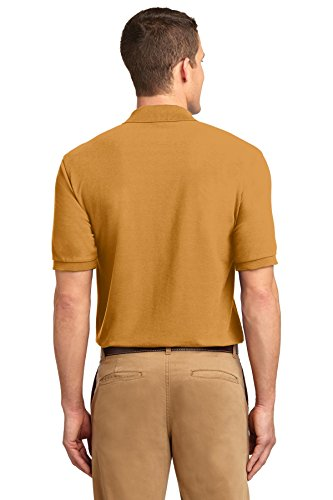NEW Port Behörde Silk-Touch Sport T-Shirt Harvest Gold, M Gold - Gold