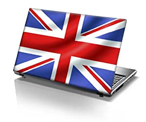 "15,6"" Autocollants pour ordinateur portable drapeau Union Jack"