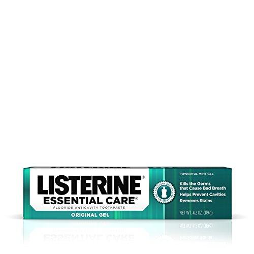 Listerine Listerine Essential Care Toothpaste Powerful Mint Gel 125 ml – Zahnpasta