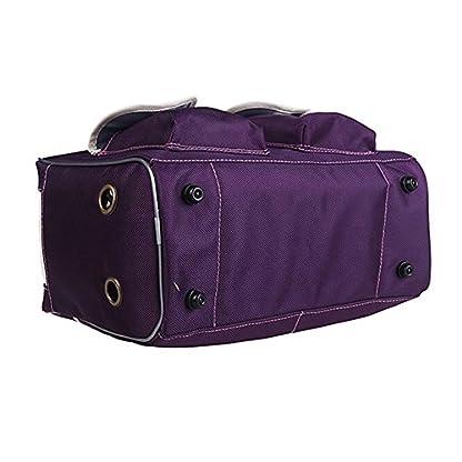 B-JOY Dog Box Car Dog Transport Box Transport Bag Handbag S M L Pet Dog Dog and Cat Airline Approved (L(45*18*30cm… 3