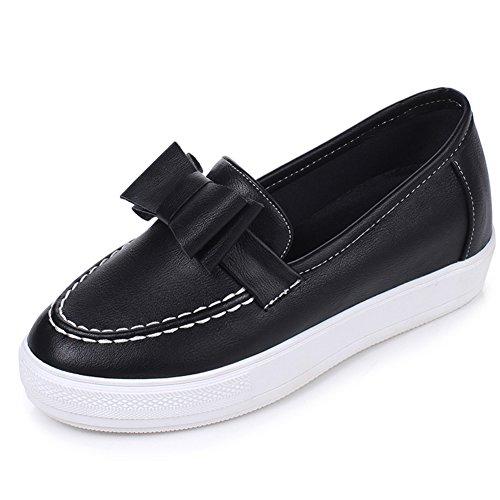 Collège vent chaussures profondes/Arcs en augmentant la hauteur chaussures/Chaussures de l'étudiant A