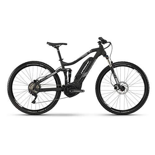 Haibike 2019 Sduro FullSeven 3.0 - Bicicleta eléctrica (27,5\'\'), Color Negro y Gris, Color Schwarz/Grau/Weiß Matt, tamaño Extra-Large, tamaño de Rueda 27.50