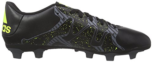 adidas Chaos Entry Fxg, Chaussures de Football homme Noir (core Black/solar Yellow/night Met. F13)