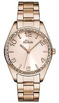 s.Oliver Damen-Armbanduhr XS Analog Quarz Edelstahl beschichtet SO-2903-MQ