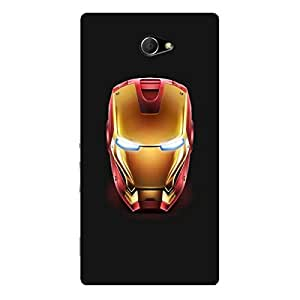 EYP Superheroes Ironman Back Cover Case for Sony Xperia M2 Dual