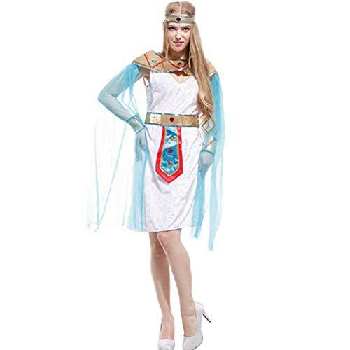 Prinz Kostüm Männliche - GUAN Halloween-Kostüm-Erwachsener ägyptischer Prinz Clothes Egyptian Pharao Yan Hou König Cosplay Masquerade