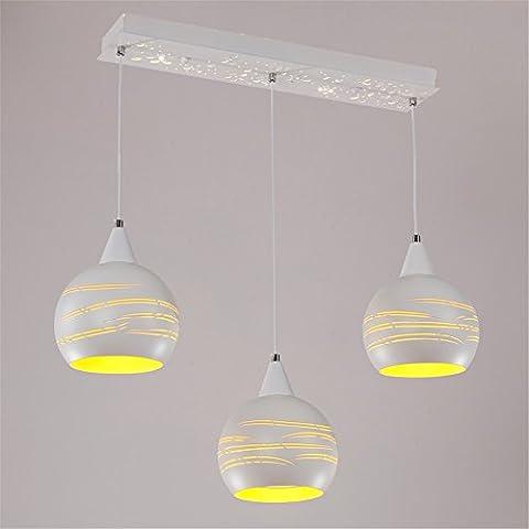 CAC Moda creative luci pendenti home lighting lampada a sospensione LED lampada pendente per sala da pranzo moderna e27 220v per il decor,tre tonalità