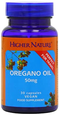 Higher Nature Oregano Oil Capsules Pack of 30 from Higher Nature