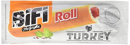 Bifi Roll Turkey - Herzhafter Truthahn-Salami Fleischsnack - Snack im Teigmantel - 1080 g,10000026951