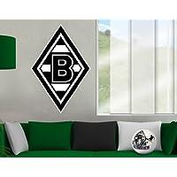 mantiburi WandTattoo Borussia Mönchengladbach® Logo Die Fohlen 60x97cm