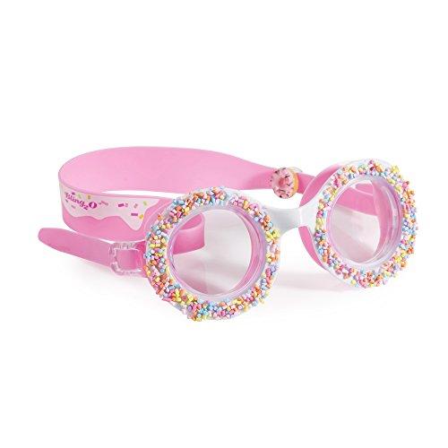 Bling2O Gafas de Natación para Las Niñas–Do 'Tuercas' 4U Niños Gafas de Natación, Boston Crème Pink