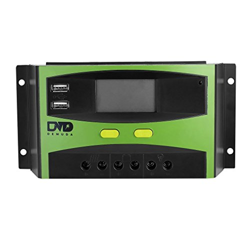 LESHP Regulador de Carga Solar Panel 30A...