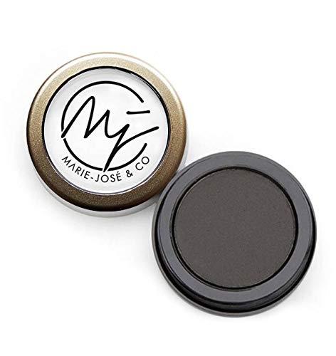 Poudre à Sourcils Noir Doux Marie-José | Maquillage semi-permanent pour les sourcils, Soft Black | Contenu: 3 g