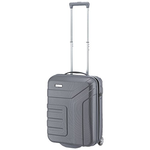 Travelite Valise trolley Vector avec 2 roues anthracite Koffer, 55 cm, 44 liters, Schwarz (Anthracite)