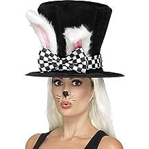 Maravilla Tea Party March Hare Top Hat con orejas
