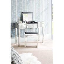 My-Furniture - Chelsea gama - apolo - reflejo espejo tocador consola con compartimento y cajón