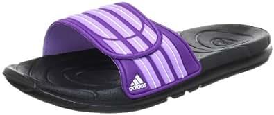 adidas Taedia Vario W G46719 Damen Sandalen, Mehrfarbig (Black 1 / Power Purple S12 / Super Purple S12), EU 42 (UK 8)