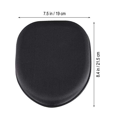 LEORX Portable Kopfhörer Tasche Etui Cover Box für Sony MDR-ZX100 ZX110 ZX300 ZX310 ZX600 Kopfhörer (schwarz) - 4