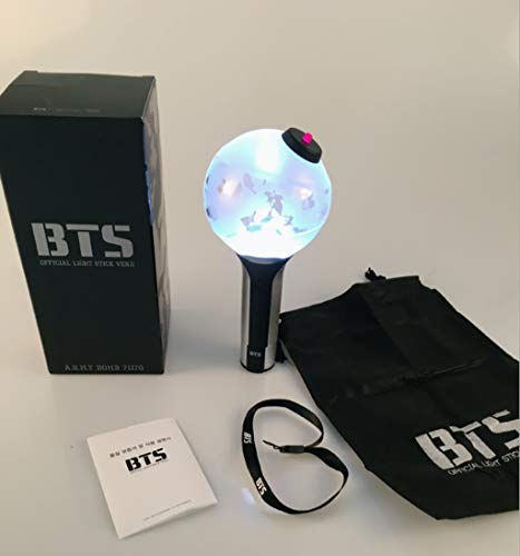 BTS Army Bomb Concert Lichtstab , Bulletproof Youth League Konzerthilfe aid Generation 2 VER.2 Fan-Handlicht (Stick Up Glühbirne)