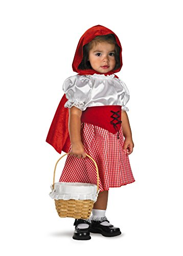Disguise Inc 21413 Lil Red Riding Hood Infant-Toddler Kost-m Gr--e - Lil Red Riding Hood Kostüm