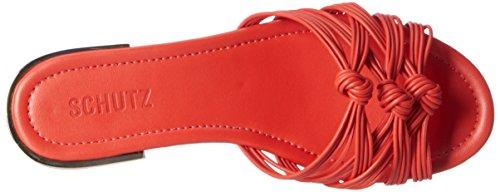 Schutz - S2-02380016, Pantofole Donna Orange (Nice Orange)
