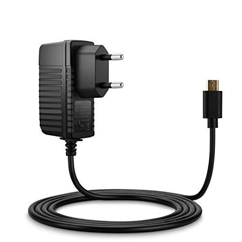 Aukru® Hohe Qualität Netzteil 5V 2A Micro USB Ladegerät für Raspberry Pi 2 Model B/ B(+) plus - 2000 mA Kabellänge 150cm