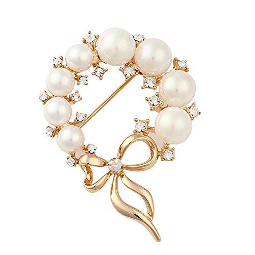 Moderna moda scialli fibbia/ fibbia sciarpa perla/Spilla di strass/ ornamento