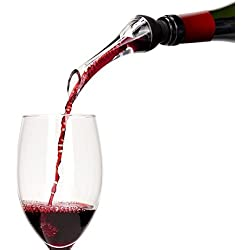 PACKNBUY Wine Aerator Aerating Pourer Decanter And OPENER