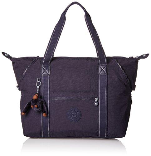 Kipling - ART M - Reisetasche - Warm Grey - (Grey) Blue Purple C