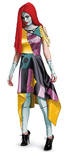 Kostüm Adult Sally Nightmare Before Christmas - Women's Prestige Sally Fancy dress costume Medium