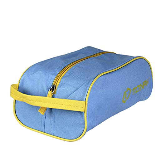 LHY SAVE Scarpe Borse,Grande Borsa da Viaggio Impermeabile Sacca da Viaggio per Uomini E Donne Scarpe Sportive, Scarpe da Golf, Scarpe da Calcio,Blue