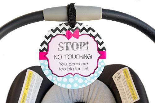 Fille Preemie Sign, Naissance, siège auto avec Tag, cadeau de Baby Shower, poussette Tag, bébé Preemie sans toucher de siège de voiture Sign