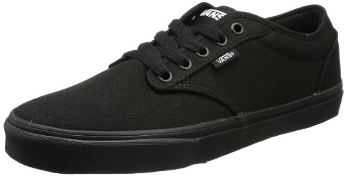 Vans Atwood Herren Sneakers, Schwarz ((Canvas) Black/ 186), 50 EU, 15 UK, 16 US