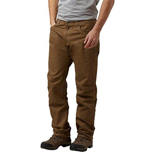 Kuhl Rydr Mens Trousers Dark Khaki 34R (Khaki-hosen Ultimate)