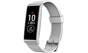 MyKronoz ZeFit4 Activity Tracker with Colour Touchscreen and SmartphOne Notifications - White/Silver