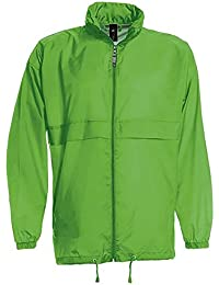 B&C Sirocco - Veste coupe-vent légère résistante à l'eau - Homme (S) (Vert)