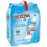Bezoya Agua Mineral Natural Retractil - Pack de 6 x 1,5 l - Total: 9 l