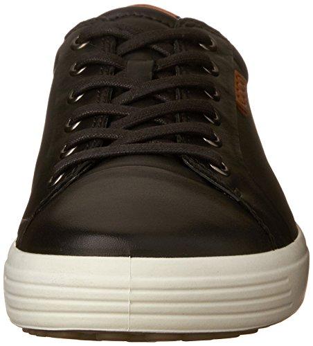 Ecco Soft 7, Baskets Basses Homme Noir (BLACK01001)