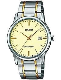 Casio Reloj con movimiento cuarzo japonés Mtp+V002Sg.9A Plateado 40  mm