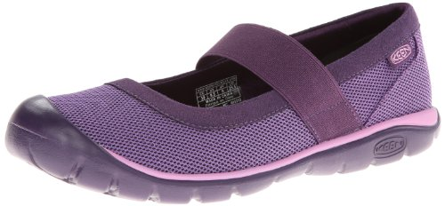 Keen Kanga MJ Damen Schuh Ballerina Slipper Schwarz Violett, BLACKBERRY/PURPLE HEART, 42 EU (Mary Leder Keen Janes)