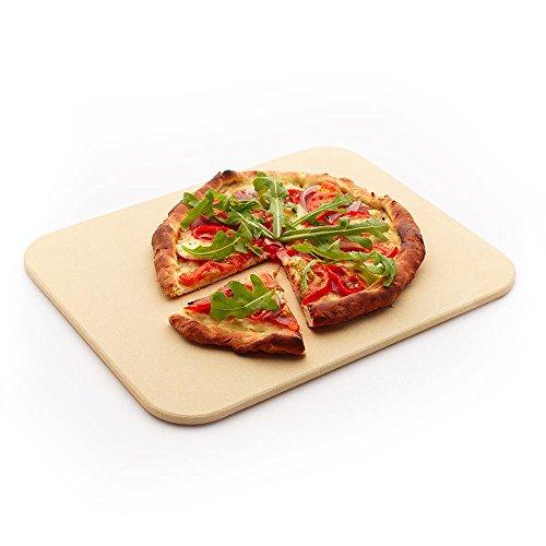 Peter Süße Brotback/Pizzastein 38 x 35 cm rechteckig Cordierit