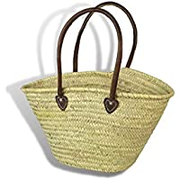 Large Moroccan Market Shopping Basket - Leather Handles - W58 D20 H32. by MAISON ANDALUZ  sc 1 st  Amazon UK & Amazon.co.uk: MAISON ANDALUZ - Shopping Baskets / Shopping Bags ... azcodes.com