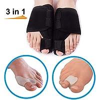Big Toe Separators Kit (3 Paar in 1 Set), Zehenkorrektor für Ballenzehen, Schmerzlinderung für Hallux Valgus preisvergleich bei billige-tabletten.eu