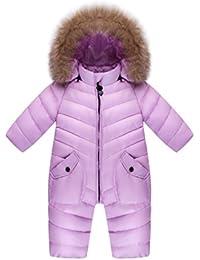 f749bc440 Amazon.co.uk  Purple - Snowsuits   Snow   Rainwear  Clothing