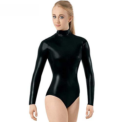 Für Dance Latin Kostüm Stoff - AJJDL Standard Ballsaaltanz Übungskleider für Frauen Performance Tanzkostüme Expansionsrock Kleider Modernes Glitzer Kleid Lyrical Latin Dance Kostüm,Black,XXXL