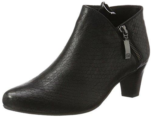 Gerry Weber Shoes Damen Lena 07 Stiefeletten, Schwarz 100, 40 EU