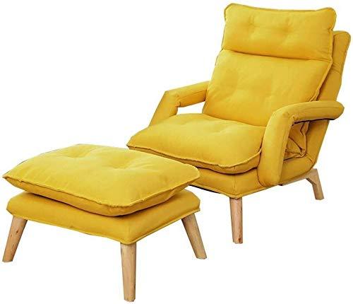 Silla plegable Plegable Silla perezosa del sofá de múltiples funciones plegable individual...